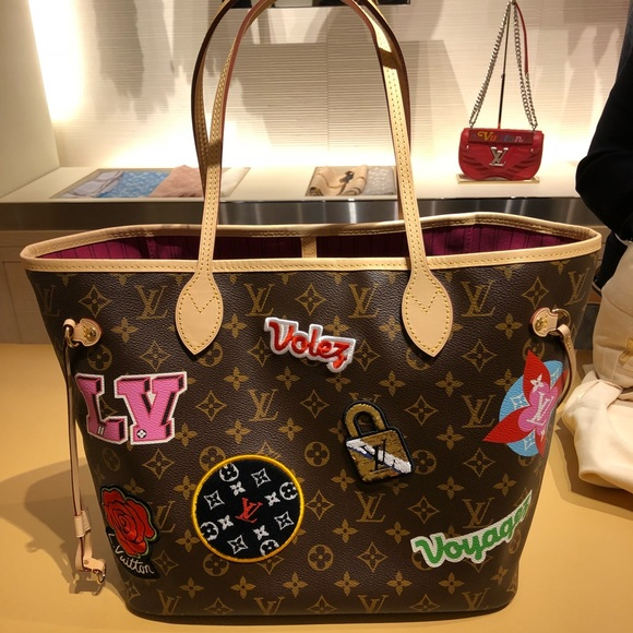 dcc6939022a3d Louis Vuitton 2018 Neverfull MM Limited Edition